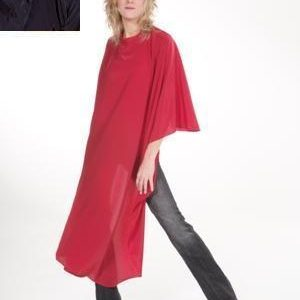 Kadeřnická pláštěnka Flexi červená