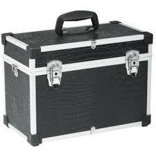 Kadeřnický kufr Sinelco Compact černý