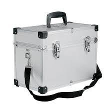 Kadeřnický kufr Sinelco Compact stříbrný