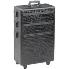 Kadeřnický kufr Sinelco Modular černý