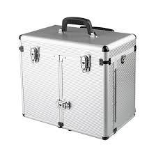 Kadeřnický kufr Sinelco Windows stříbrný
