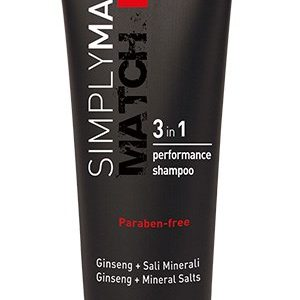 Simply Man 3 in 1 Performance Shampoo