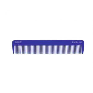Hřeben na vlasy Sinelco DUOLINE modrý 19 cm
