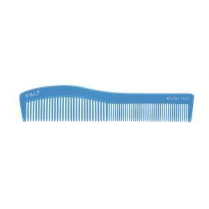 Hřeben na vlasy Sinelco DUOLINE světle modrý