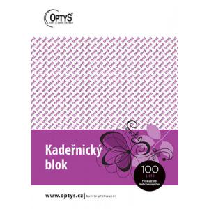 Kadeřnický blok A5 propisovací 100 kusů OPTYS