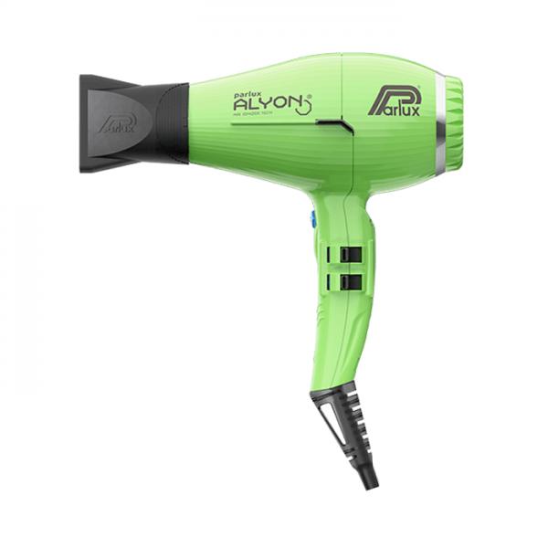 fén parlux alyon air ionizer tech green
