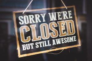 Svátek bez nakupování? Dne 28.10.2019 zavřeno!