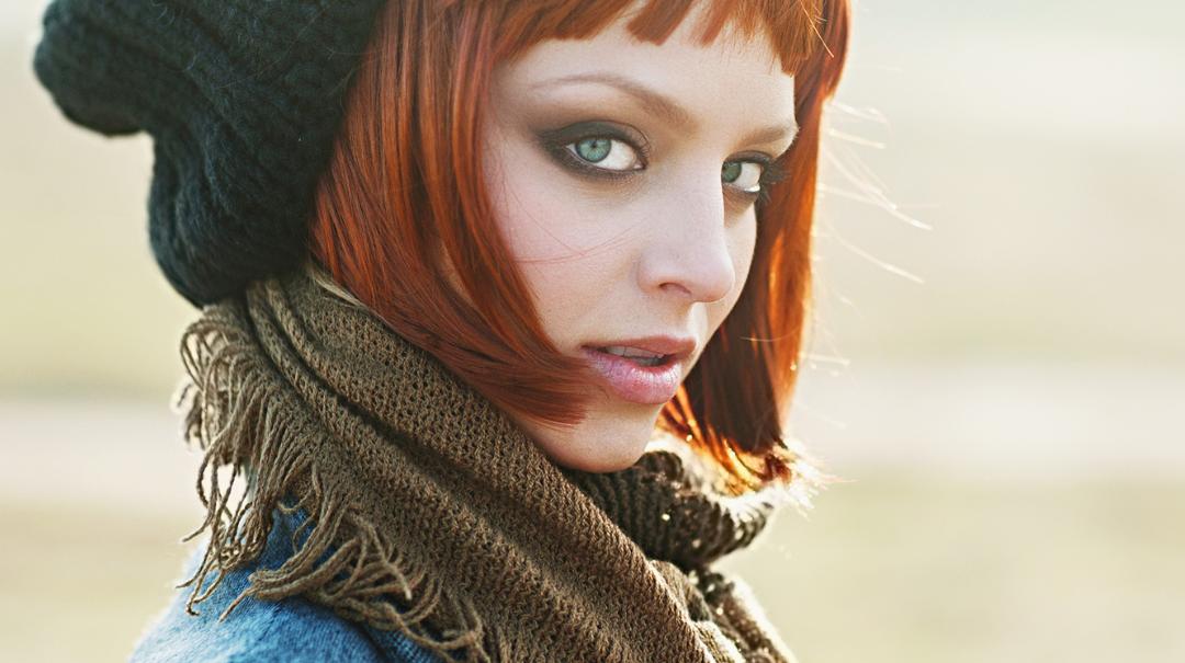 Barvy podzimu ve vlasech